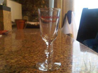 Harolds Club Casino Vintage Gift Shop Champagne Glass Reno Nevada