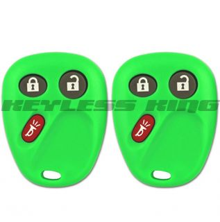 NEW GM GREEN KEYLESS ENTRY REMOTE CONTROL KEY FOB CLICKER
