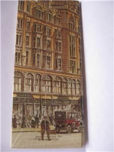 Harrods London Birthday organizer Book trim purse desk size   Unused