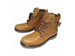Harley Davidson Mens Danby Brown Boots D94349 Size 13