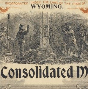 1903 Stock Lucrative Cons Mining Co Bonanza Colorado
