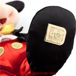 Disney Magic Kingdom 40th Anniversary Mickey Mouse Plush Toy 10 H