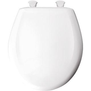 Comfort Seats Deluxe Plastic Round Contemporary Toilet Seat