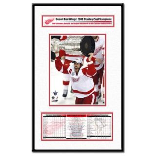 Thats My Ticket NHL 2008 Stanley Cup Champions Frame MVP Henrik