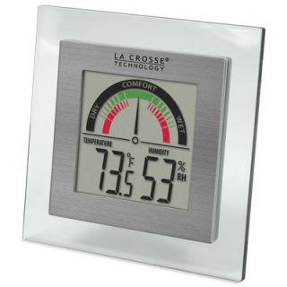 La Crosse Technology 14 Classic Black Atomic Wall Clock   WT 3143A