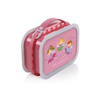 Yubo Deluxe Lunchbox with Fairy Princess Design in Pink   1002P 2007