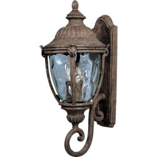 Maxim Lighting North Church Small Outdoor Wall Lantern   1051BK