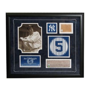 Steiner Sports MLB Retired Number Joe Dimaggio Framed Collage   New