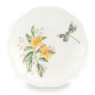Lenox Butterfly Meadow Blue Butterfly Dinner Plate