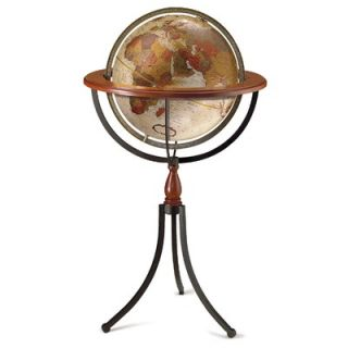 Replogle Commander II 16 Antique Floor/Desktop Globe