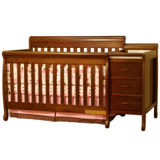 DaVinci Kalani Two Piece Convertible Crib Set with Toddler Rail in