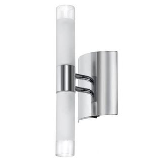 Dainolite Frosted Glass 2 Light Wall Sconce