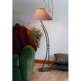 Kenroy Home Reed Two Light Floor Lamp in Brushed Steel