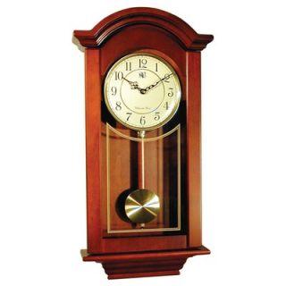 River City Clocks Regulator Wall Clock in Cherry