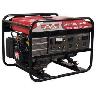 Mi T M 6000 Watt 13 HP Honda OHV Portable Gasoline Generator