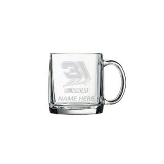 Susquehanna Glass Nascar Individual 13 oz. Coffee Mug, Jeff Burton