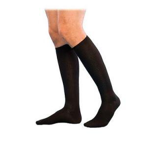 Sigvaris Casual Cotton 15 20mmHg Closed Toe Mens Knee High Sock