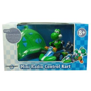 Marketing Super Mario   Yoshi Radio Control Kart, 1/24 Scale