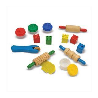 Melissa and Doug Clay Play Arts & Crafts Kit