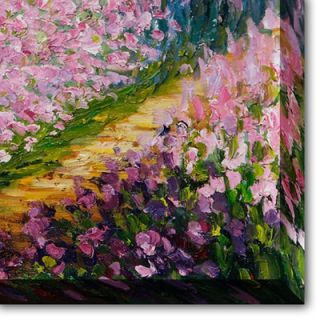 Giverny Canvas Art by Claude Monet Impressionism   35 X 31