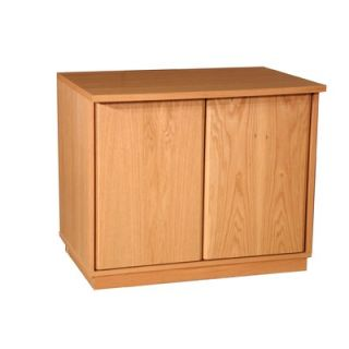Rush Furniture Modular Real Oak Wood Veneer 29.5 Oak Panel Enclosed