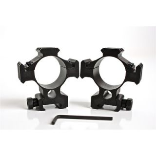 CounterSniper Scope Ring Mount Set for 35mm with Picatinny Rails