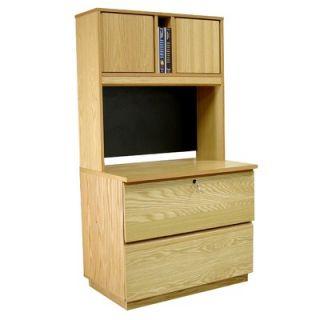 Real Oak Wood Veneer 36 H Lateral File Set   7699816, 7836361