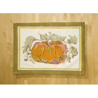 Couleur Nature Pumpkin Orange Yellow Placemat (Set of 6)   28 41 6