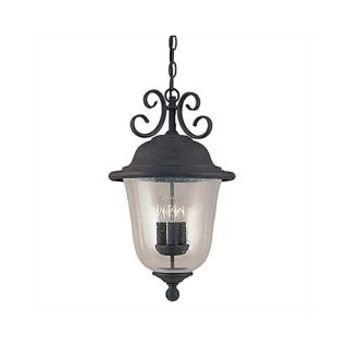 Colonial Styling Outdoor Pendant in Weathered Copper   6062 44