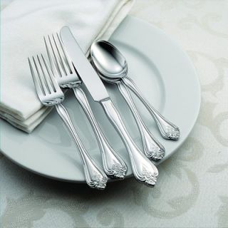Oneida Boutonniere 45 Piece Everyday Flatware Set   B242045A