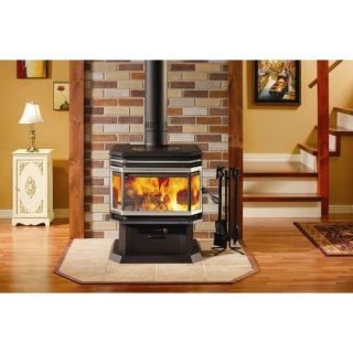 Castle Stoves 30,000 BTU Pellet Stove with Electric Ignition and