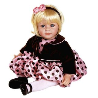 Adora Dolls Baby Doll Panda riffic Brown Hair / Brown Eyes