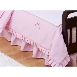 Sweet Jojo Designs Fairy Tale Fairies Toddler Bed Skirt   Skirt