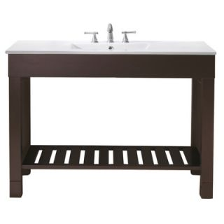 Avanity Loft 49 Bathroom Vanity in Dark Walnut   LOFT VS48 DW