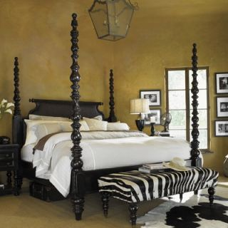 Tommy Bahama Home Kingstown Sovereign Four Poster Bed   01 0619 17XC