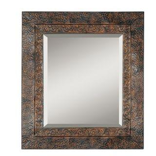 Uttermost Jackson Rustic Metal Framed Mirror