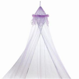 Three Cheers For Girls Fantasy Bed Canopy in Purple