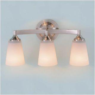 Feiss Paris Moderne Vanity Light in Brushed Steel   VS9403 BS