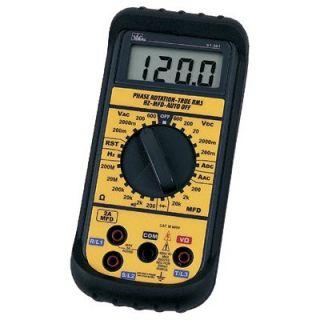 600 Series Pocket Meters   digital multimeter pocket size   61 605