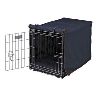 Dog crate covers precision pet indoor outdoor crate cover for Outdoor dog crate cover