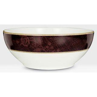 Noritake Mahogany Rose 70 oz. Large Round Bowl
