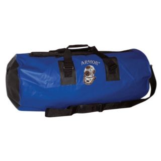 36 Waterproof Tarpaulin Travel Duffel with Black Trim