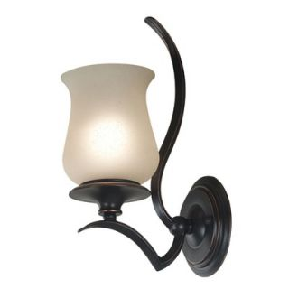 Kenroy Home Bienville Wall Sconce in Oil Rubbed Bronze   80581ORB