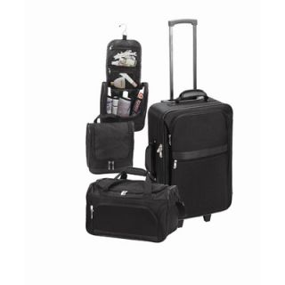 Goodhope Bags 3 Piece Luggage Set
