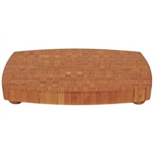Totally Bamboo Chop Large Butcher Block Cutting Board