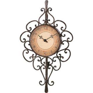 Coast Lighting Gallery Coleccion Mis Flores Wall Clock   82 8249 28