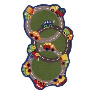 nuLOOM Kinder Traffic Time Kids Rug