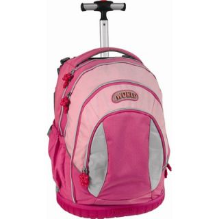 World Sweet Kids Ergonomic Rolling Backpack