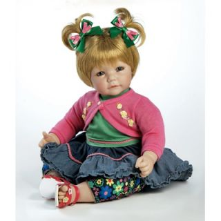 Adora Dolls Baby Doll Denim And Daisies Sandy Blonde Hair / Blue