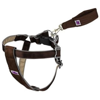 "Doggles Mutt Gearâ""¢ Dog Step In Harness in Brown and Tan"